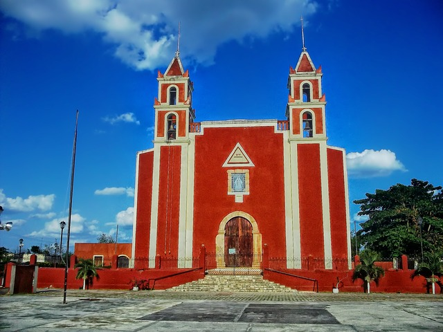 kirche backpacking in mexiko