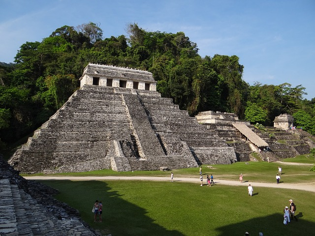 maya ruine palenque mexiko backpacking reise
