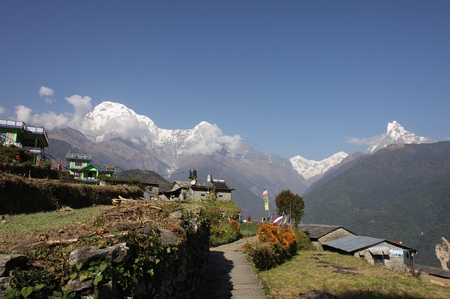 Backpacking in Nepal Pokhara Annapurna Circuit Trek