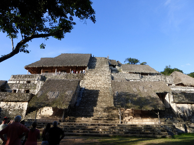 Ek Balam Yucatan Maya Ruinen Mexiko