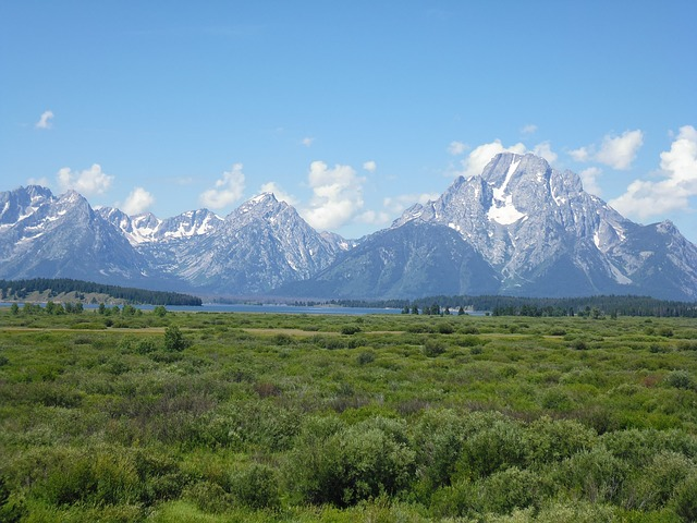 USA Reise Backpacking Grand Teton Nationalpark Rocky Mountains Wyoming