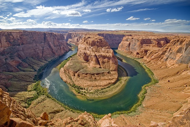 Backpacking in den USA horseshoe bend colorado river arizona