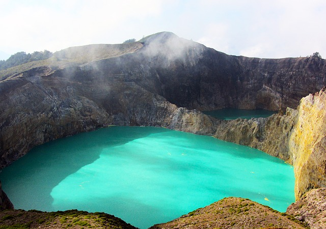 Kelimutu Kraterseen Flores Indonesien Backpacking