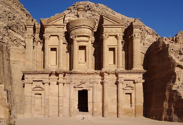 Backpacking im Nahen Osten Petra Jordanien