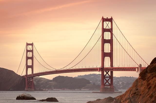 Golden Gate Bridge San Francisco Backpacking USA Kalifornien Reise