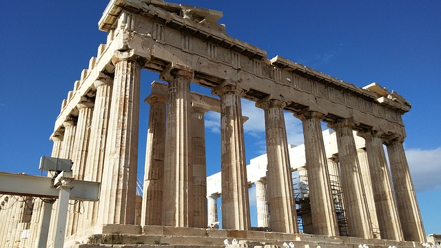 Akropolis in Athen Backpacking Griechenland