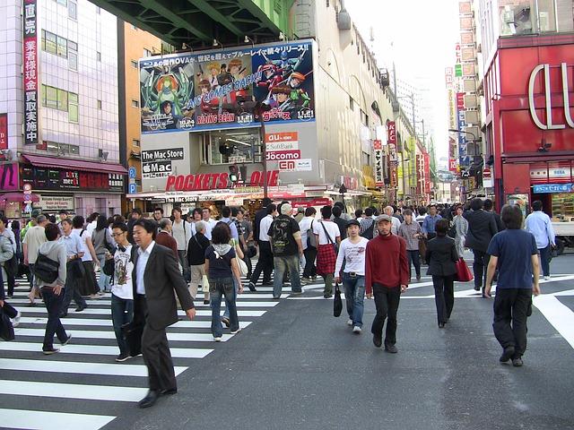 Tokio Backpacking Japan Reise