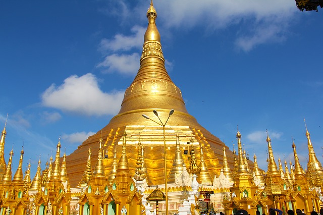 Shwedagon Pagode Rangun Backpacking in Mynamar