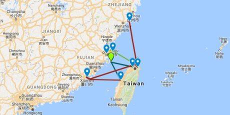 Fähren nach Taiwan: Die komplette Übersicht