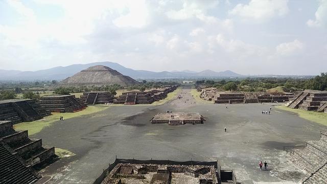 Teotihuacan Mexiko Stadt Ruine
