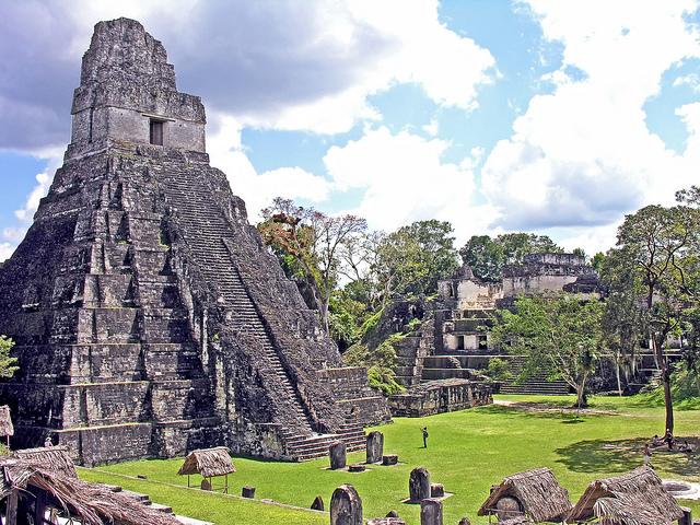 Tikal Ruine backpacking guatemala