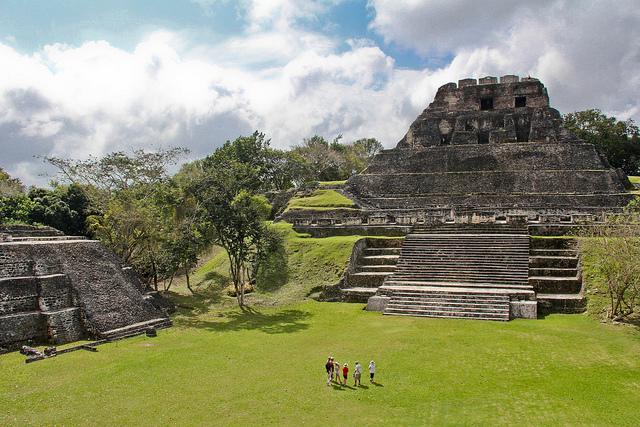 Xunantunich Belize Maya Ruine