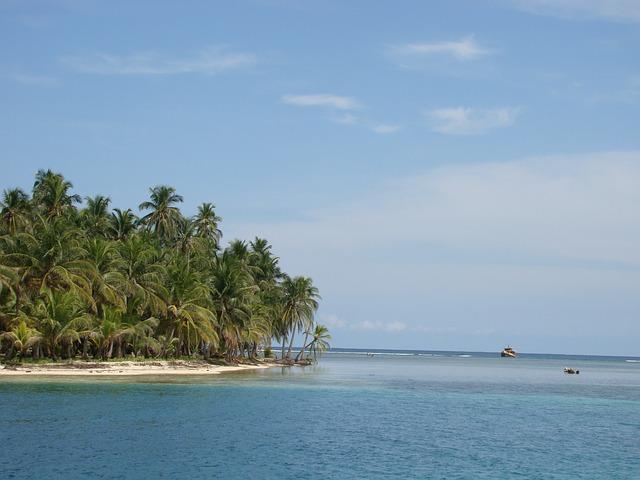 Segeln durch die San Blas in Inseln in Panama