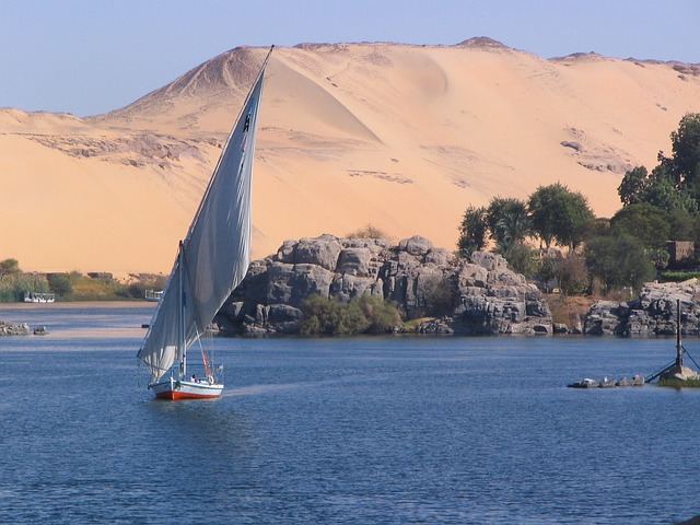 Backpacking Ägypten Bootstour auf dem Nil