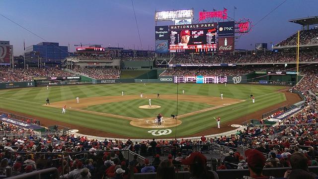 Backpacking USA Reise Baseball Washington D.C.