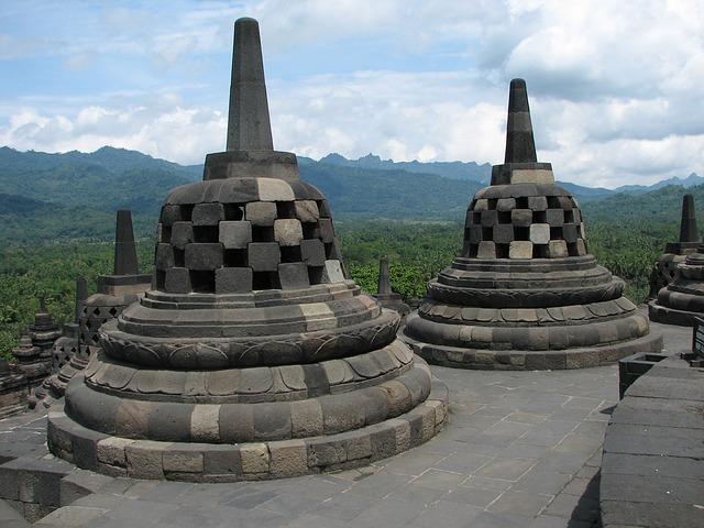 Borobudur Yogyakarta Backpacking in Indonesien