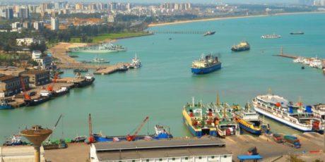 Fähren zwischen China und Südkorea