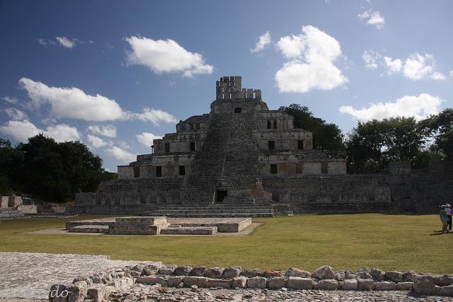 Edzna Campeche Mexiko Maya Ruine
