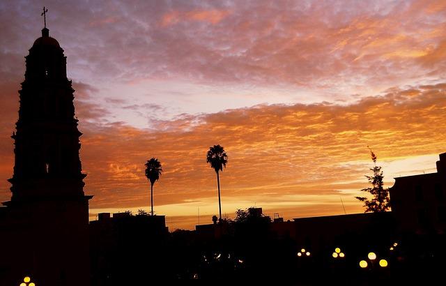 Fresnillo Zacatecas Himmel Mexiko