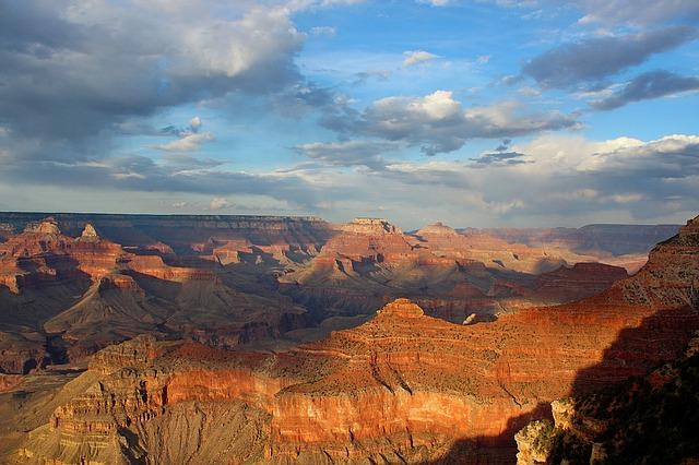 Backpacking in Nordamerika Grand Canyon Arizona USA