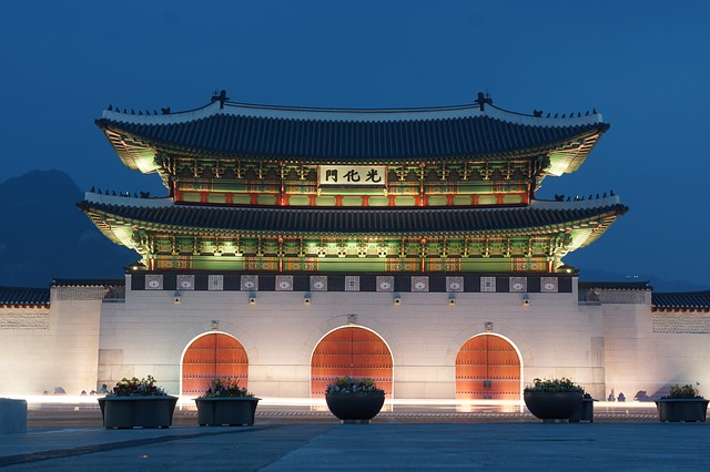 Gyeongbok Palast Seoul Backpacking in Korea Nordasien