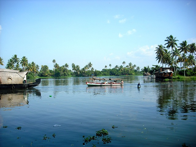 Kerala Backwaters Indien Backpacking Reise
