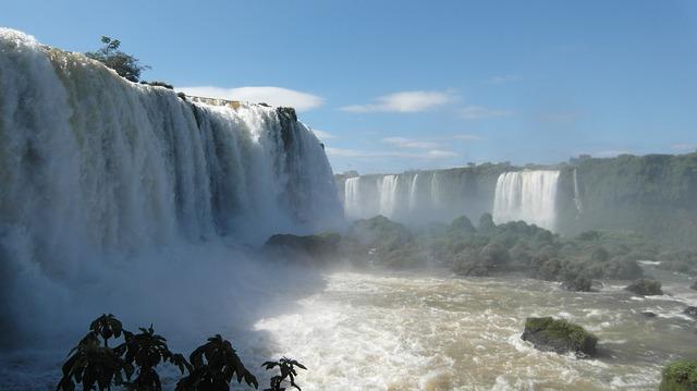 Iguacu Wasserfälle in Brasilien Backpacking in Südamerika