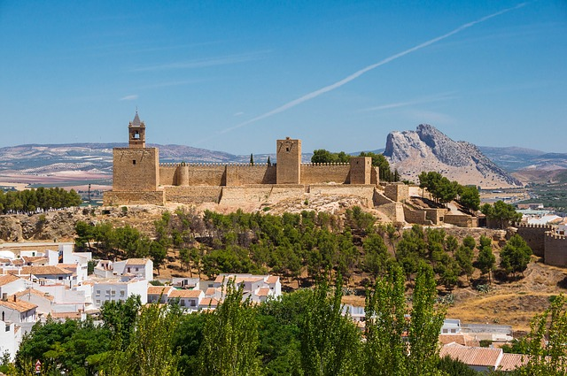 Alcazaba Andalusien Backpacking Spanien Reise