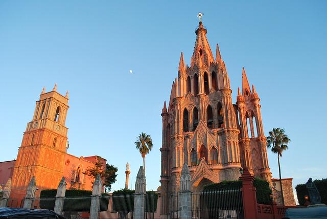 San Miguel de Allende Backpacking in Mexiko
