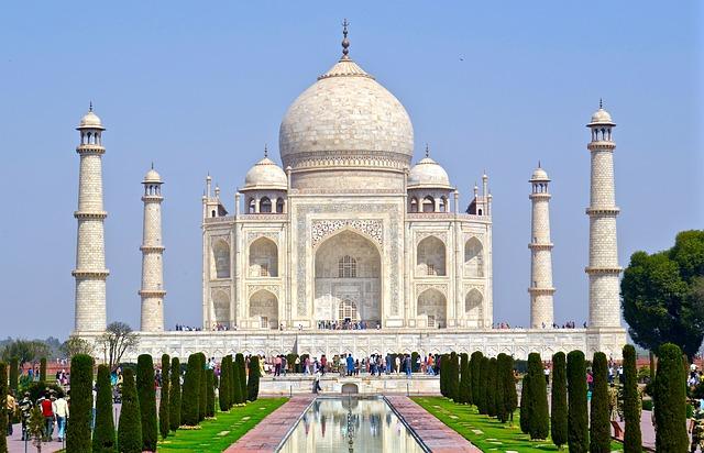 Backpacking in Indien Taj Mahal Agra
