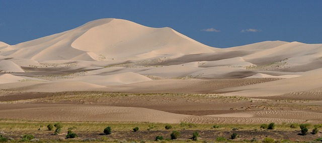 Transmongolische Eisenbahn Mongolei Wüste Gobi