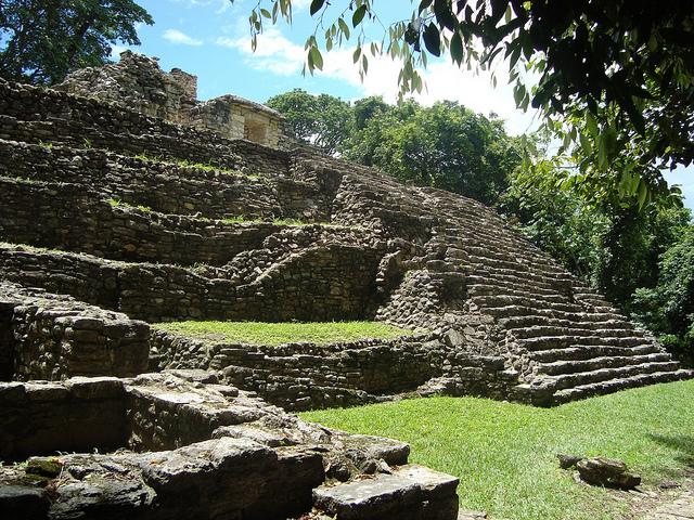 Yaxchilan Maya Ruine Mexiko